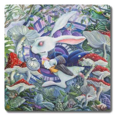 The White Rabbit Placemat