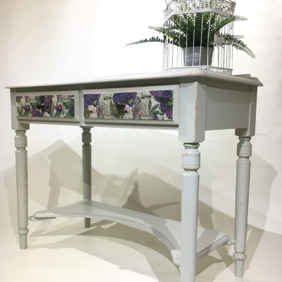 Bespoke Painted Ducal Dressing Table