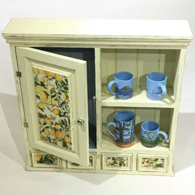 Charming Little Lemon Cupboard